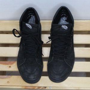 All Black Sk8-Vans